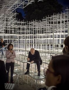 Sou Fujimoto | Viabizzuno | Serpentine Gallery Installation | #LDF2013 @Luxologie