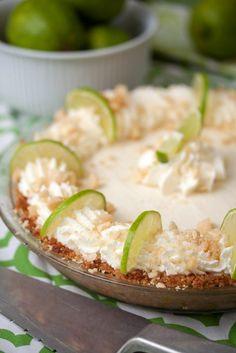 Macadamia Key Lime Pie from Tide & Thyme using Taste of Home Recipe: http://www.tasteofhome.com/Recipes/Macadamia-Key-Lime-Pie?keycode=ZPIN0813