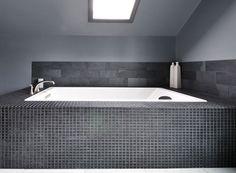 Graphite Bathroom contemporary bathroom