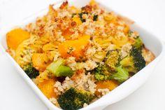 vegansk pastagrateng Tahini, Butternut Squash, Cooking Recipes, Vegetables, Food, Food Recipes, Veggie Food, Vegetable Recipes, Meals