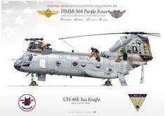 USMC CH-46E Sea Knight 9 - Knight Riders