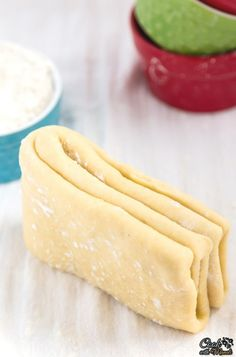 Easy Puff Pastry Dough which tastes so much better than the store bought stuff a. - Stuff to Try - Pastry Easy Puff Pastry Recipe, Pastry Dough Recipe, Pastry Cook, Puff Pastry Dough, Choux Pastry, Shortcrust Pastry, Savory Pastry, Baking Recipes, Dessert Recipes