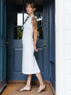 fb647e1598e medina dress - white White Sleeveless Dress