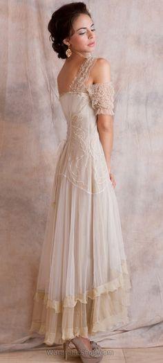 Venetian 40153 Cream Vintage Dress, Daisy Buchanan inspired flapper dress #daisybuchanan #gatsby