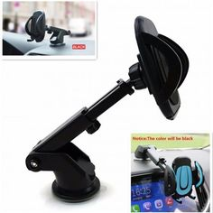 1x Universal Car Mobile Phone Holder Auto Gps Dashboard Windshield Mount Stands 90 Day Black 0.2kg (0.44lb.) Iphone 4s,iphone 3g/3gs,iphone 4,iphone 5 Aluminium Alloy