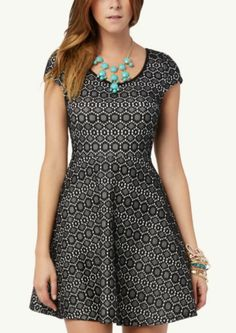Medallion Skater Dress | Casual | rue21