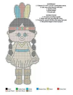 Native Girl (Wall Hanging)