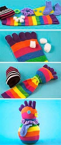 30 χρήσιμες και πρακτικές κατασκευές και χρήσεις απο παλιές κάλτσες | Φτιάξτο μόνος σου - Κατασκευές DIY - Do it yourself