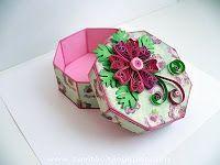 Whorl of Ksyushka - Lovely quilled box