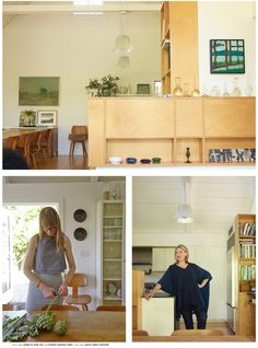 ceiling lights!!! (Julie Carlson's Mill Valley home) | Apiece Apart