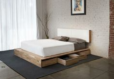 MASH Studios Storage Platform Queen Bed