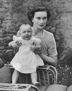 theroyalhistory: The Duchess of Gloucester and her son, Prince William of Gloucester, 1942