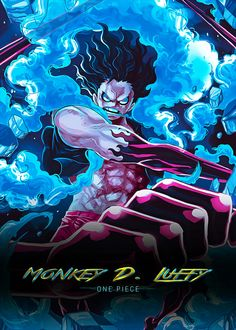 Ruffy in Snake Man Mode. one piece One Piece Anime, Ace One Piece, Zoro One Piece, One Piece Comic, One Piece World, One Piece Fanart, Luffy Gear Fourth, Luffy Gear 4, Anime Artwork