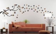 Resultado de imagen para pintando paisajes en pared paso a paso