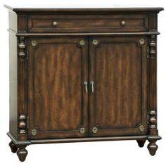 Distressed Walnut Brown Accent Chest | Overstock.com Shopping - Great Deals on Coffee, Sofa & End Tables