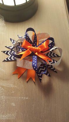 Custom-made hair bows / hair bands