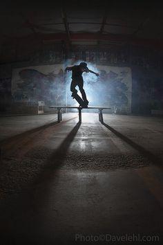 HD skateboarding photography