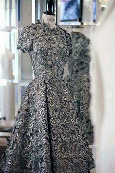 Ralph & Russo Metallic Couture Dress