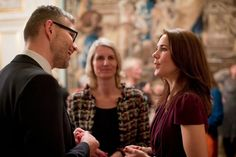 Crown Princess Mary at the annual Christmas reception of the Mary Foundation
