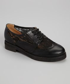 Look at this Black Oxy Oxford on #zulily today!