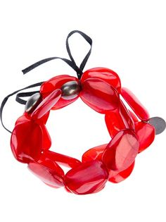 MARIA CALDERARA Resin Bead Bracelet