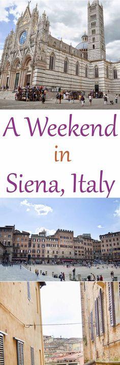 One Night in Siena Travel Guide #travel #travelblog #travelblogger #siena #italy #tuscany #sienaitaly #travelguide