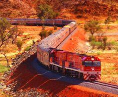 The Ghan, Australia: Darwin, Alice Springs and Adelaide