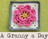 365 granny square patterns -- I repinned this but would like to see if there is a book to go along with it.  I could handle a different granny for every day of the year!