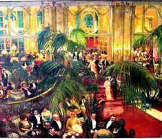 Grande ocasião, s/d Clare Atwood (Inglaterra, 1866-1962) óleo sobre tela