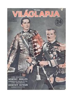 size: Giclee Print: Miklos Horthy De Nagbanya with His Eldest Son : Gradient Color, Find Art, Printing Process, Framed Artwork, Giclee Print, Sons, History, Catalog, Posters