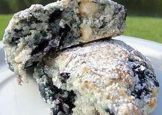 White Chocolate Blueberry Scones