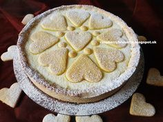 Raspberrybrunette: Linecký tvarohový koláč