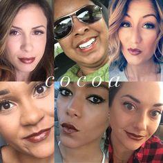 #LipSense #LipServiceByLaura Distributor ID #204829 #Senegence #makeup #longwearingmakeup #Cocoa