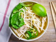 Pressure Cooker Faux Chicken Pho by The Sophistcated Caveman