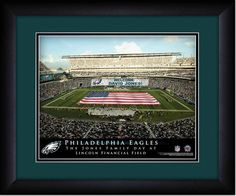 Your Name on a sign in Lincoln Financial Field, Your Day at the Stadium.  Great gift for Philadelphia Eagles Fans. Customize with your name on cards held by the fans and make it Your Day at the stadium. https://www.myteamprints.com/