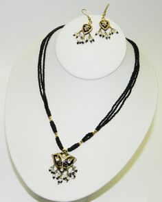Necklace and earring set. Buy Now http://www.etsy.com/listing/110353312/necklace-and-earring-set for only $15