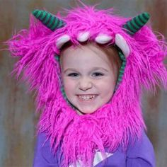 Monster Head Costumes by Siaomimi Play #kids #dressup #halloween