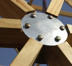Geodesic Dome Connectors Garden Pinterest Geodesic Dome Stars And Plates