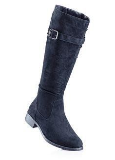 a895ac954d3d Stövel mörkblå - bpc selection - bonprix.se Riding Boots, Wedges, Horse  Riding