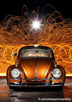 vw bug, posted by © Steve Sharp Photography, via stanceiseverything.com