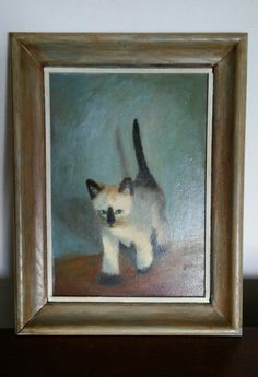 #Cat #paiinting #lover #Siamese #vintageforsale help me #win #hubby says #I can't get 1000 shares for my #listing 23 years of marriage  http://pages.ebay.com/link/?nav=item.view&id=351545779718&alt=web