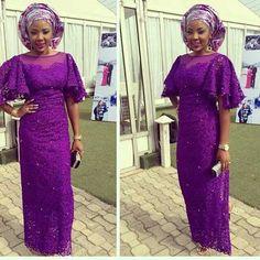 purple asoebi lace - Google Search