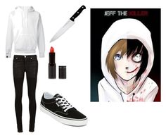 """""""Jeff the killer"""" by yandere-chan1 on Polyvore featuring SWEAR, Alyx, J.A. Henckels, New Look and Vans"""