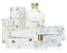 Obsessed with this line, especially this scent. <3 Lollia