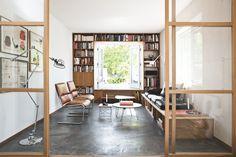 La maison d'Anna G. / Wood, concrete & vintage  // #Architecture, #Design, #HomeDecor, #InteriorDesign, #Style