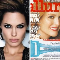 "WOW!! ANGELINA JOLIE!! Rodan+Fields, creators of Proactiv offer what Angelina uses to stay young looking and beautiful!! As seen in this Allure magazine that has named R+F's Amp MD Roller the ""Best spent minute in skincare!"" Check out this video and contact me today if YOU want to partner with this multi-billion dollar brand!! Winkyrn@gmail.com"