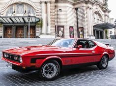 musclecars4ever Old School Muscle Cars, Manual Transmission, Caravans, Custom Cars, Ford Mustang, Hot Rods, Classic Cars, Vehicles, Mustangs