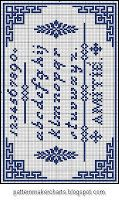 Free Easy Cross, Pattern Maker, PCStitch Charts + Free Historic Old Pattern Books: Sajou No 101