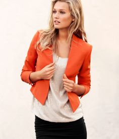 Spring Fashion Trend: Brightly Colored Blazers - My Thirty Spot