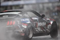 Motor'n | TEAM FALKEN NEWCOMERS CARRY TORCH ON RAIN-SOAKED STREETS OF LONG BEACH FOR FORMULA DRIFT OPENER